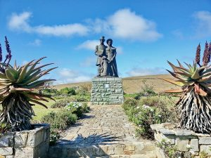 A monument to the 1820 Settlers